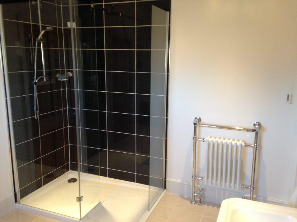 Full shower room installation