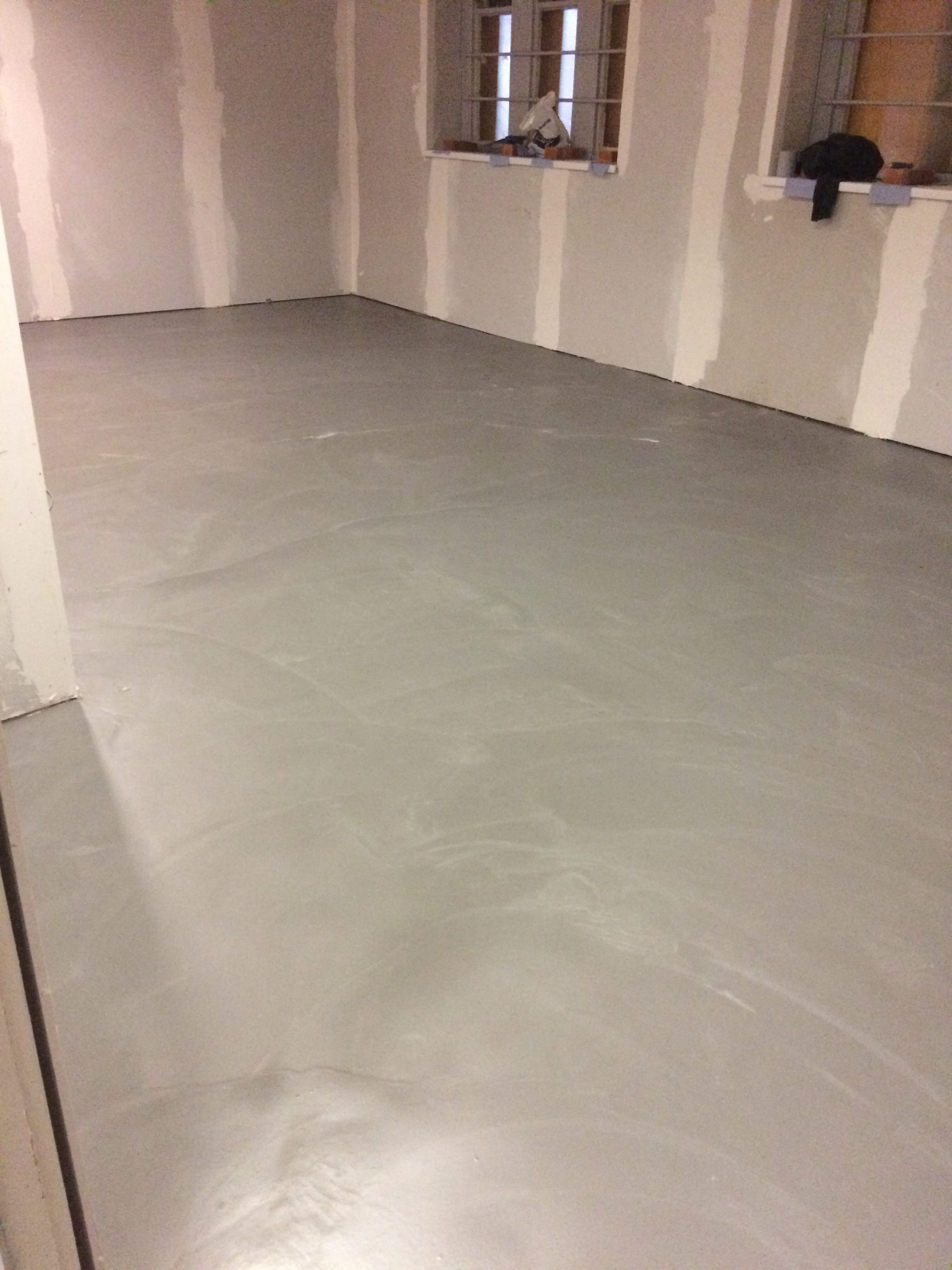 Floor leveling for complete office refurbishment